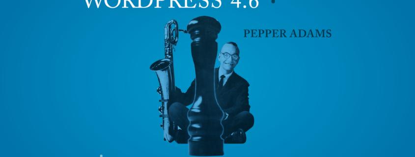 """wordpress versão 4.6 """"Pepper"""""""