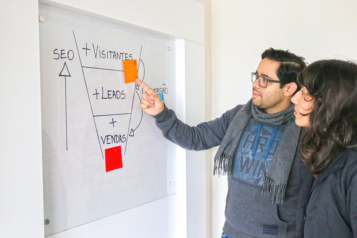 Otimização de SEO e conversão