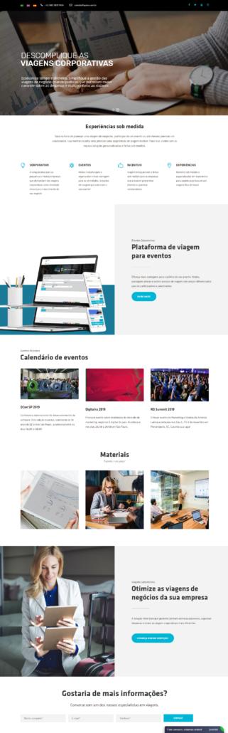 Tipos de site: institucionais